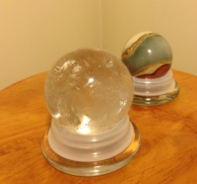 spheres on bases