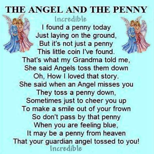 angel and penny poem